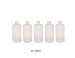 2oz Replacement Customizable Applicator Bottle (Set of 5)