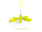 20-Gauge Applicator Tips