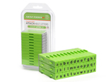 Attachable Letters Stamp Set 36pcs Lowercase