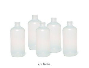 4oz Replacement Customizable Applicator Bottle (Set of 5)