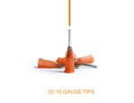 15-Gauge Applicator Tips